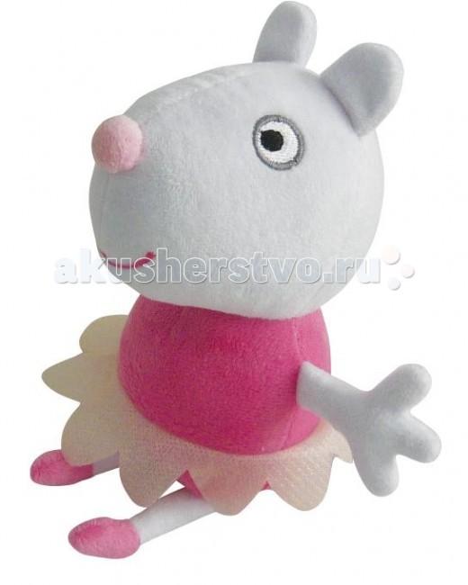 Мягкая игрушка Peppa Pig Овечка Сьюзи балерина 20 см