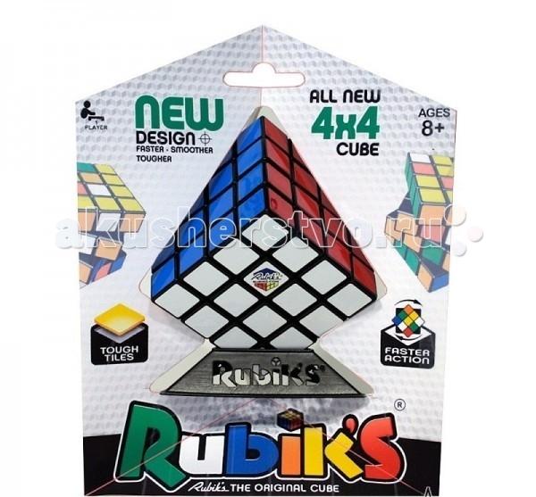 Рубикс Головоломка КР5012 Кубик рубика 4х4Головоломка КР5012 Кубик рубика 4х4Головоломка Рубикс КР5012 Кубик рубика 4х4.  Новое поколение головоломок. Впервые у 4х4 вместо наклеек у головоломки цветные пластиковые плитки. Кубик Рубика 4х4 - это усложненная версия классического кубика-рубика 3х3. Здесь 16 клеток на стороне и совсем другие алгоритмы сборки. В оригинале кубик Рубика 4х4 называется Rubiks Revenge или Месть Рубика.   Основные характеристики:  Современный, усовершенствованный механизм гарантирует прочность конструкции и точность поворотов  В основе обновленной версии механизм на базе шара, благодаря чему головоломка отличается точными, при этом плавными и мягкими поворотами.  Для производства этой версии потребовалось на 30% больше пластика, чем для кубика 4х4 предыдущего поколения Конструкция состоит из более 200 деталей  Фирменная подставка Rubiks для удобного хранения игрушки  Яркие и прочные пластиковые вставки (не наклейки!!) обеспечивают долговечность и максимум удовольствия от игры.<br>