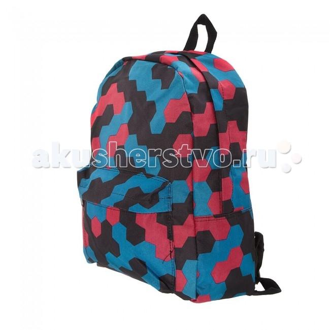 3D Bags Рюкзак МозаикаРюкзак МозаикаРюкзак Мозаика 3DBC329  Стильный, вместительный и практичный, рюкзак понравится и школьникам, и студентам.   Просторный внутренний отсек, наружный карман на молнии будут очень удобны в использовании.   Материал - полиэстер  Размер - 40х32х13 см<br>