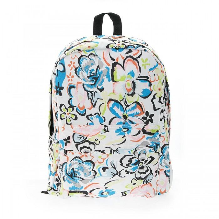3D Bags Рюкзак ЦветыРюкзак ЦветыРюкзак Цветы 3DBC409  Стильный, вместительный и практичный, рюкзак понравится и школьникам, и студентам.   Просторный внутренний отсек, наружный карман на молнии будут очень удобны в использовании.   Материал - полиэстер  Размер - 40х32х13 см<br>