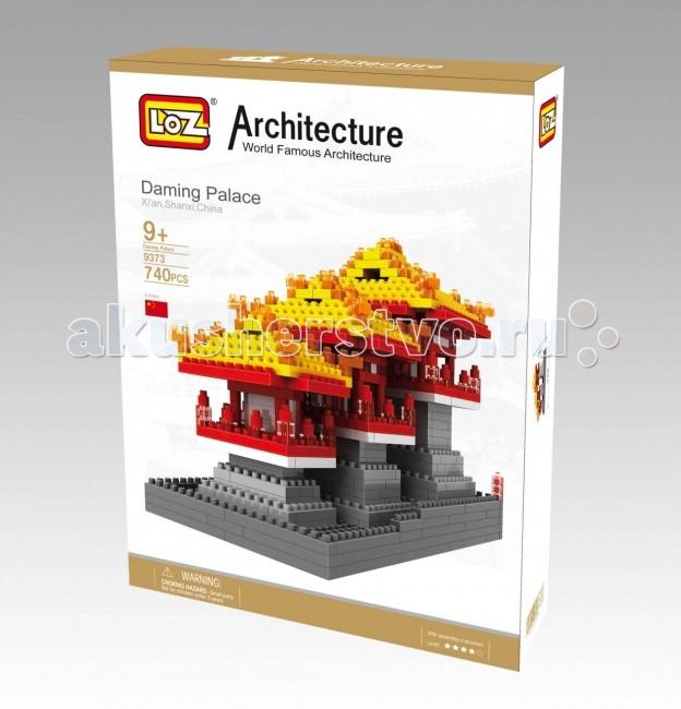 Конструктор Loz Архитектор Дворец Даминг (740 деталей)