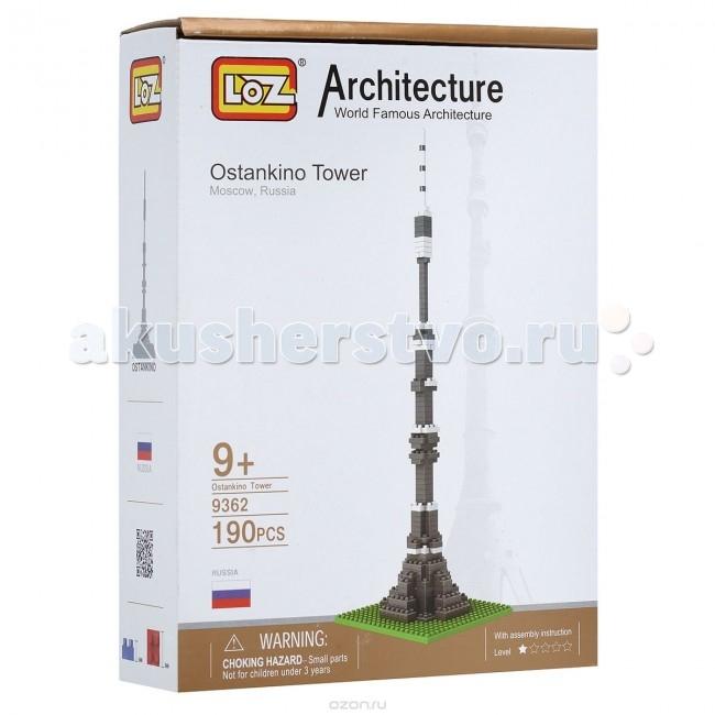 Конструктор Loz Архитектор Останкинская Башня (190 деталей)