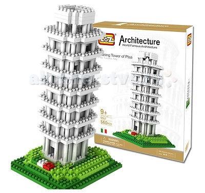 Конструктор Loz Архитектор Пизанская Башня (560 деталей)