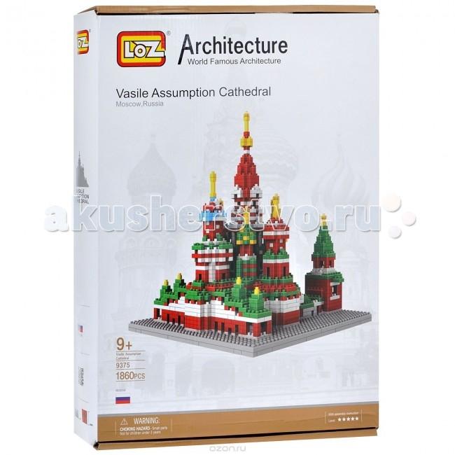 Конструктор Loz Архитектор собор Василия Блаженного (560 деталей)
