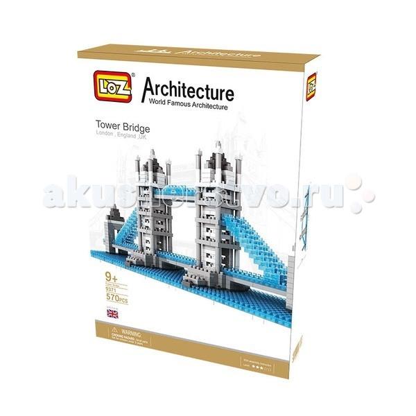 Конструктор Loz Архитектор Тауэрский Мост (570 деталей)