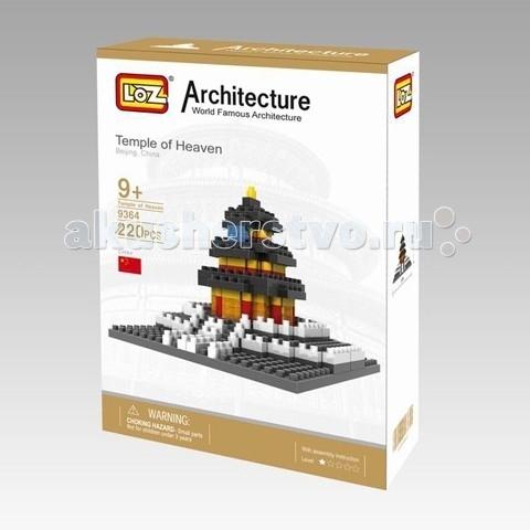 Конструктор Loz Архитектор Храм Неба (220 деталей)