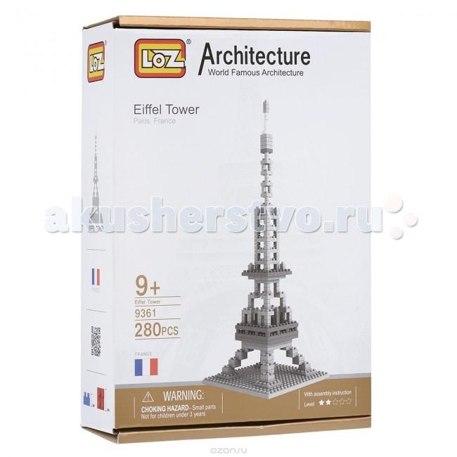 Конструктор Loz Архитектор Эйфелева Башня (280 деталей)