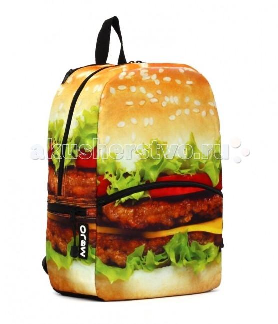 Mojo Pax Рюкзак BurgerРюкзак BurgerРюкзак Burger Mojo Pax  Вы современны, вы живете в быстром городском ритме? Тогда бургеры - ваши друзья!   Значит вам понравится этот яркий рюкзак от бренда Mojo. Реалистичный бургер всегда будет вызывать улыбку и позитив. На этот невероятный принт хочется смотреть и смотреть.   Поразительная реалистичность картинки создает настроение и добавляет немного романтики в образ владельца этого рюкзака.  Материал - полиэстер/люминесцентная краска  Размер - 43х30х16 см  MOJO – это бьющая через край энергия молодости, это современный, яркий, смелый стиль для тех, кто не привык сливаться с фоном. Бренд предлагает большой выбор рюкзаков, чехлов для планшетов и ноутбуков, кошельков, наушников и других аксессуаров. Подростки и молодежь любят продукцию MOJO за поистине уникальное сочетание качества, эргономичности, удобства и стопроцентно запоминающейся «внешности». Яркие, смелые, привлекающие к себе внимание принты, современные ткани, высококлассная фурнитура, безупречное качество пошива – эти вещи будут с вами – и будут на пике популярности - ни один год! Качество MOJO давно по достоинству оценили на Западе и в Европе – бренд любят и школьники, и студенты, и взрослые любители ярких вещей и яркой жизни.<br>