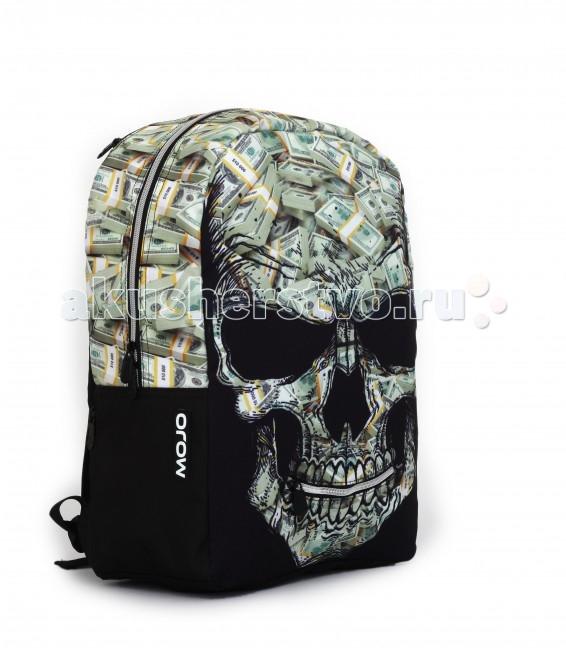 Mojo Pax Рюкзак Money Stacks Mr.PetersonРюкзак Money Stacks Mr.PetersonРюкзак Money Stacks Mr.Peterson Mojo Pax  Очень крутой дизайн с очень глубоким смыслом!  На первый взгляд, этот рюкзак «украшает» череп с довольно мрачной гримасой.   Но если присмотреться, можно увидеть, что человеческая голова, вернее, то, что от нее осталось, состоит из множества толстых пачек купюр. А в УФ вся эта красота еще и начинает светиться призрачным голубоватым сиянием…   Такой рюкзак Mojo — явно для тех, кто привык шокировать и выделяться из толпы.  Материал - полиэстер/люминесцентная краска  Размер - 43х30х16 см  MOJO – это бьющая через край энергия молодости, это современный, яркий, смелый стиль для тех, кто не привык сливаться с фоном. Бренд предлагает большой выбор рюкзаков, чехлов для планшетов и ноутбуков, кошельков, наушников и других аксессуаров. Подростки и молодежь любят продукцию MOJO за поистине уникальное сочетание качества, эргономичности, удобства и стопроцентно запоминающейся «внешности». Яркие, смелые, привлекающие к себе внимание принты, современные ткани, высококлассная фурнитура, безупречное качество пошива – эти вещи будут с вами – и будут на пике популярности - ни один год! Качество MOJO давно по достоинству оценили на Западе и в Европе – бренд любят и школьники, и студенты, и взрослые любители ярких вещей и яркой жизни.<br>