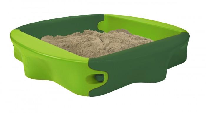 BIG Песочница с крышкой SandyПесочница с крышкой SandyПесочница с крышкой BIG Sandy   Как здорово поиграть в песочнице, полепить куличики, построить сказочные замки и просто башенки.    Особенности:    Зеленая песочница с крышкой выполнена из высокопрочного пластика, который способен выдерживать нагрузки до 50 кг.   Данную модель можно будет установить во дворе или на дачном участке.   Она достаточно вместительна, чтобы в ней могли спокойной играть несколько малышей.   Наличие крышки позволяет защищать песок во время дождя.   Для своих размеров конструкция обладает совсем небольшим весом, составляющим менее 20 кг.   Размер: 138х138х27 см<br>