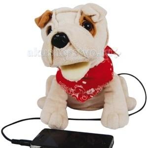 Интерактивная игрушка Maxitoys Говорящая собачка Патч 26 смГоворящая собачка Патч 26 смИнтерактивная игрушка Maxitoys Говорящая собачка Патч - это не только забавная мягкая игрушка, особенностью данной модели является способность воспроизводить музыку или работать в режиме Hands Free.   Веселая и очаровательная собачка станет не только отличным подарком, но и полезной вещью в доме.<br>