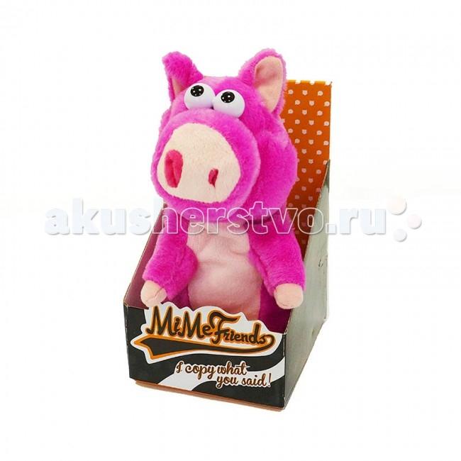 Интерактивная игрушка Maxitoys Поросенок 14 см