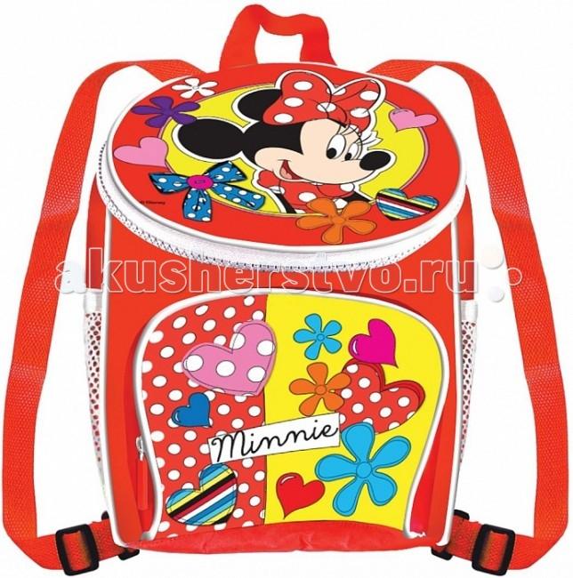 Disney Роспись рюкзака Минни МаусРоспись рюкзака Минни МаусРоспись рюкзака Минни Маус, Disney Минни Маус.  Красивый, удобный рюкзачок, да еще и раскрашенный собственными руками – вот, что нужно маленькой моднице. Крошка сама преобразит милый аксессуар и будет с ним играть, ходить в садик или на прогулку. А сколько гордости будет в глазах малютки! Ведь этот рюкзачок она раскрасит сама.  Чтобы рисунок получился интереснее, можно создать новые оттенки, смешав цвета маркеров: для этого раскрасьте выбранную деталь одним цветом, а сверху другим. Благодаря водостойкости маркеров, рисунок не испортится под дождем или во время стирки.Раскрашенный аксессуар пригоден для ручной стирки при температуре воды до 30 °C. Товар сертифицирован и безопасен для детского использования.   В наборе для росписи рюкзака Disney Минни:  рюкзак с нанесенным контуром рисунка  5 перманентных маркеров.<br>