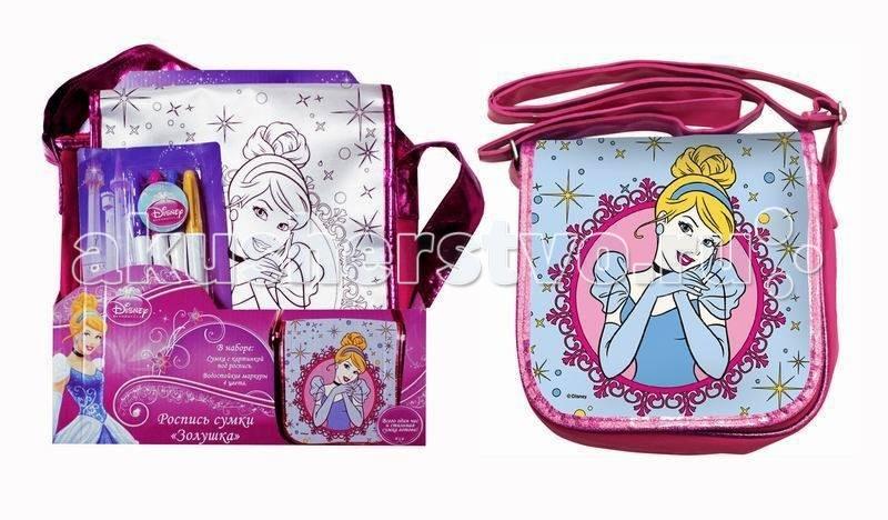 Disney Роспись сумки Золушка Принцесса