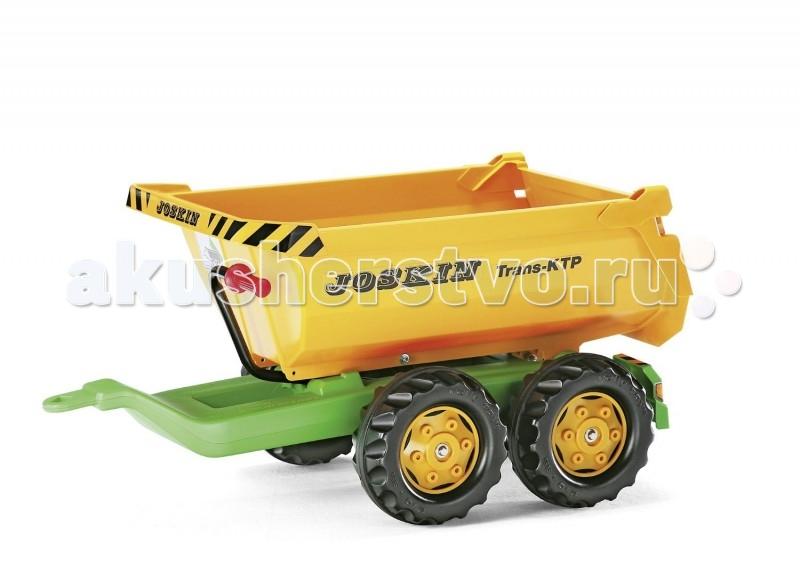 Rolly Toys Прицеп Halfpipe Joskin 122264