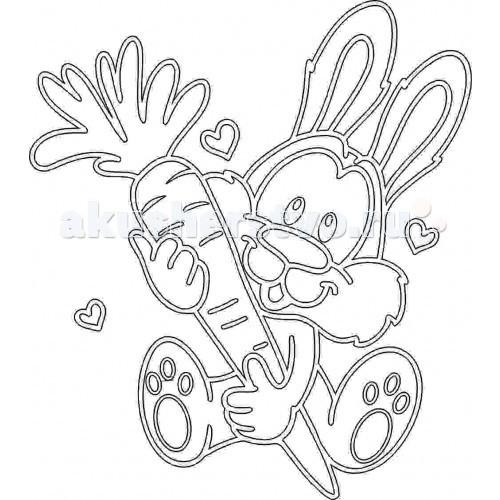 Kidsation Песочный трафарет Кролик с морковкойПесочный трафарет Кролик с морковкойKidsation Песочный трафарет Кролик с морковкой. Раскрашивать такие картины песком весьма увлекательно, а результаты выходят очень красивыми.   Известно, что рисование разноцветным песком хорошо влияет на психологическое состояние детей и даже взрослых! Раскрашивать песком такие трафареты можно как угодно, и особенно красиво выглядит смешение песка нескольких цветов. Проявив капельку старания, можно добиться интересных полутонов и оттенков с помощью песчинок-пикселей настоящего, а не электронного рисунка.  Трафарет формата А4 (210 х 297 мм) выполнен из плотного картона с самоклеющейся основой, на который нанесен лазером рисунком.<br>