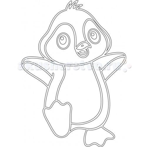 Kidsation Песочный трафарет с магнитом Пингвинчик