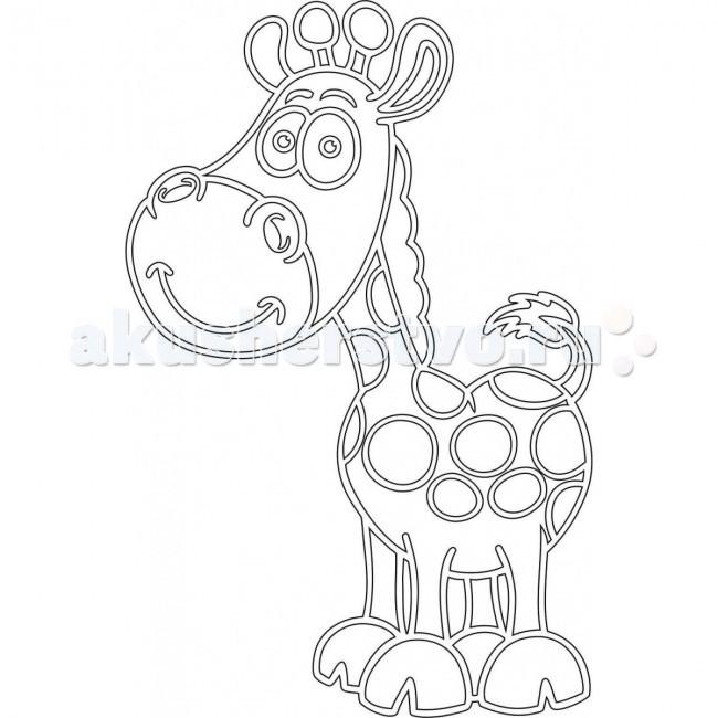 Kidsation Песочный трафарет с магнитом Жираф