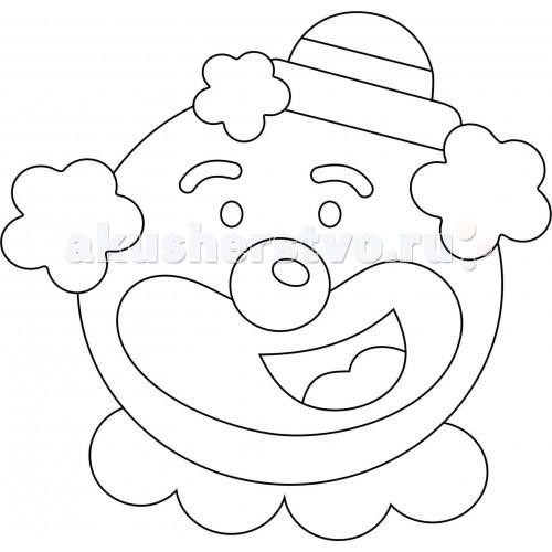 Kidsation Песочный трафарет с магнитом Клоун