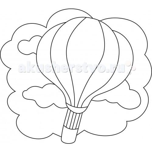 Kidsation Песочный трафарет с магнитом Воздушный шар
