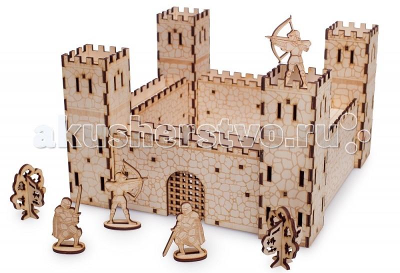 Конструктор Delphi Gate Крепость (14 деталей)Крепость (14 деталей)Конструктор Delphi Gate Крепость (14 деталей) деревянный. Ребёнок не только собирает замок, но играет в увлекательные сражения.  Крепость - оборонительное сооружение, предназначенное для долгого сдерживания сил вражеских войск. Ребёнок сможет сделать одну большую крепость и штурмовать её. Или сделать две маленькие крепости и устраивать сражения двух армий.  Особенности: Сделан из дерева Безопасен и гипоаллергенен, что подтверждено сертификатом Легко собирать В мостах и стенах есть штырьки, которые легко вставляются в башни и часовни, даже маленьким ребёнком Все наборы универсальны Детали даже разных наборов соединяются вместе.  Можно купить 1 конструктора, а потом докупать другие Не просто конструктор, а полноценная игра Решётки могут подниматься Солдаты размещаться на стенах Можно собрать десятки вариантов замков и крепостей. В наборы входит целая армия для игры в собранных замках.  Безопасные и прочные детали Выдерживают падение на пол. Углы деталей безопасны. Развивает моторику, внимание, творчество, мышление.   В наборы входит целая армия: рыцари лучники всадники  Размер:23х23х14см<br>
