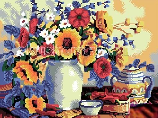 Molly Картины со стразами 2.8 мм Цветы к завтракуКартины со стразами 2.8 мм Цветы к завтракуMolly Картины со стразами 2.8 мм Цветы к завтраку. Оригинальный набор, позволяющий создать первую картину, благодаря поэтапной выкладке разноцветными стразами полотна.   Картины со стразами - это новое направление в товарах для творчества. Мы предлагаем с помощью набора создать настоящую искрящуюся картину. Это очень увлекательное занятие, постепенно под вашими руками будет появляться сверкающий рисунок, а готовое произведение станет достойным украшением дома.  Характеристики: количество цветов - 25 уровень сложности - трудный размер полотна 50 х 42.  В наборе холст из натурального хлопка с клеевым слоем разноцветные стразы диаметром 2,8 мм пинцет емкость для фольгированных элементов клей карандаш-липучка крепеж для подвешивания картины.<br>