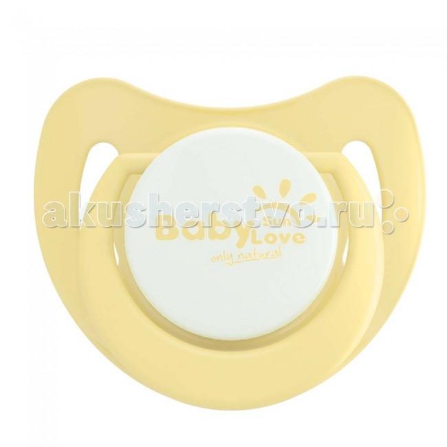 Пустышка Baby Sun Love силиконовая 3-6 мес.