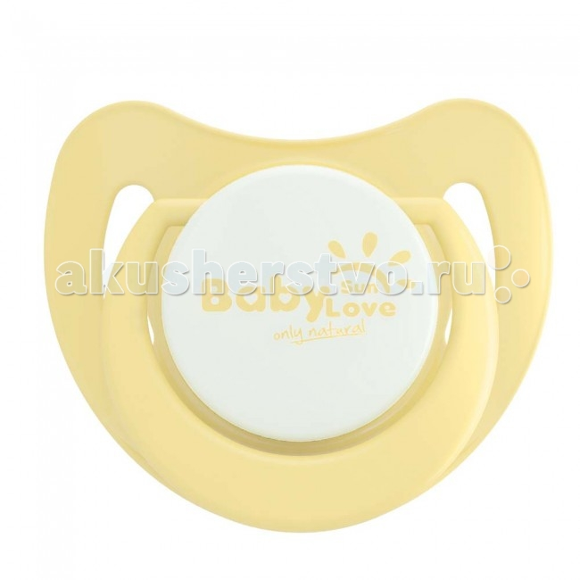 Пустышка Baby Sun Love силиконовая с 6 мес.