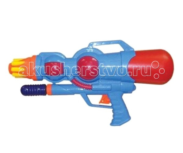 Тилибом Водный пистолет с помпой 39х20 см