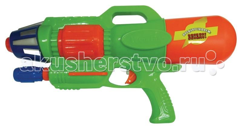 Тилибом Водный пистолет с помпой 44 смВодный пистолет с помпой 44 смТилибом Водный пистолет с помпой 44 см - для веселых игр с водой в жаркую, летнюю погоду!  С ним можно интересно провести летний жаркий день и устроить веселые водные сражения.   Стоит только нажать на курок игрушечного пистолета, как выстрелит тонкая струя воды, поразив противника. Это будет очень весело и не оставит без внимания ни одного мальчугана. Ребята будут хоть целый день бегать и прыгать, играя с водным пистолетом, заодно становясь сильнее, быстрее и ловчее, а также развивая моторику, быстроту реакции и координацию движений, внимательность.<br>