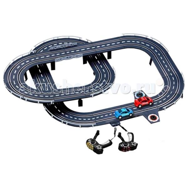 Play Smart Автотрек генераторный Параллельные гонки
