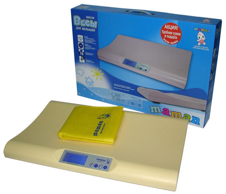 Весы детские Maman SBBC-208