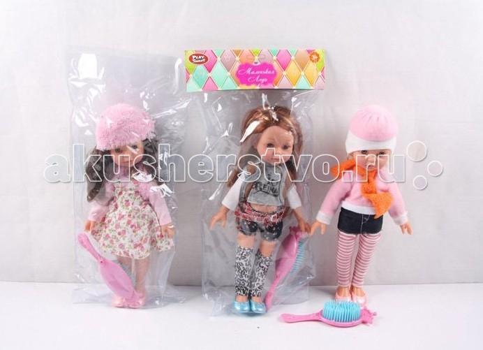 Play Smart Кукла Маленькая леди 31 см Р41100Кукла Маленькая леди 31 см Р41100Куклы Play Smart станут отличным подарком для маленькой леди! Их можно причесывать и наряжать! Голова поворачивается, ножки и ручки двигаются.  Основные характеристики:  Высота: 31 см Вес: 0.226 кг Объем: 0.001943<br>