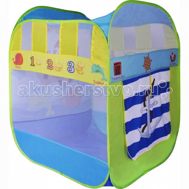 BabyOne Игровая палатка Приключения Зверей + 100 шаров