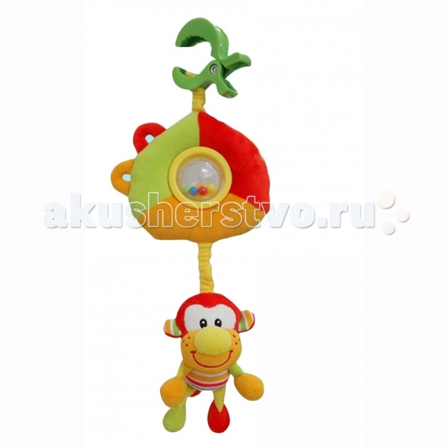 Подвесная игрушка I-Baby развивающая Обезьянаразвивающая ОбезьянаI-BABY Развивающая игрушка подвеска Обезьяна  Характеристики: Игрушка подвеска на кроватку, коляску или автомобильное кресло Удобное крепление Может использоваться как стандартная игрушка Игрушка выполнена из высококачественных материалов  Размер: 30 см<br>