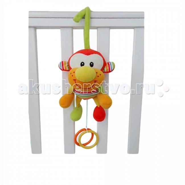 Подвесная игрушка I-Baby ОбезьянаОбезьянаI-BABY Развивающая игрушка подвязка Обезьяна  Характеристики: Игрушка подвеска на кроватку, коляску или автомобильное кресло Удобное крепление Может использоваться как стандартная игрушка Игрушка выполнена из высококачественных материалов  Размер: 22 см<br>