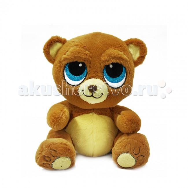 Мягкая игрушка Maxitoys Медведь Глазастик 22 смМедведь Глазастик 22 смМягкая игрушка Maxitoys Медведь Глазастик 22 см от которой ваш ребенок придет в восторг. Она изготовлена из безопасных высококачественных синтетических материалов, которые абсолютно безвредны для ребенка.   Особенности: Модель способствует развитию у детей воображения, усидчивости, тактильной  Компактную и легкую игрушку малыш всегда сможет брать с собой на прогулку. Крепкие швы надежно удерживают набивку игрушки внутри.  Такой очаровательный добродушный медведь окажется хорошим подарком не только детям, но и взрослым.<br>