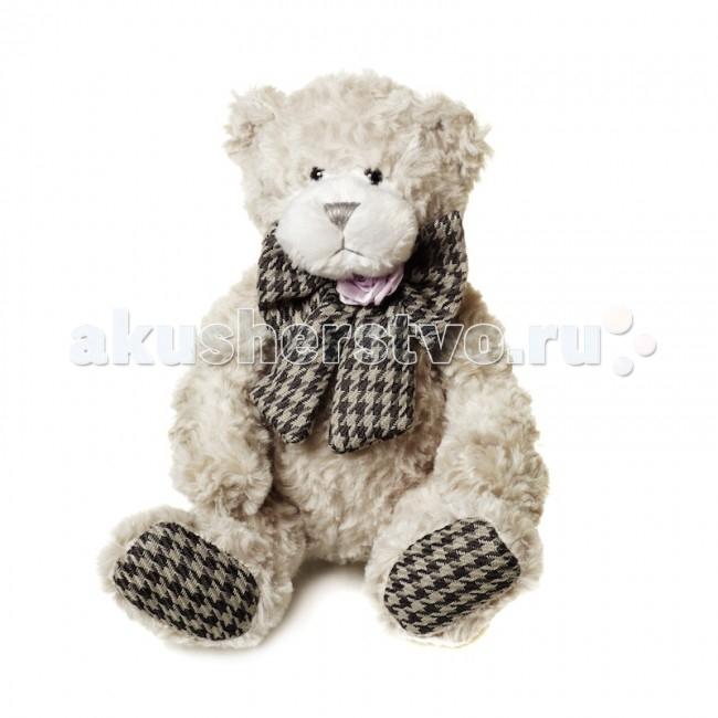Мягкая игрушка Maxitoys Luxury Мишка Бруно с бантом 22 см