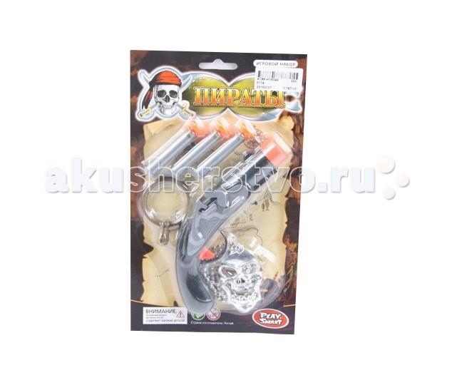 Play Smart Полиция пистолет с присосками Р41222