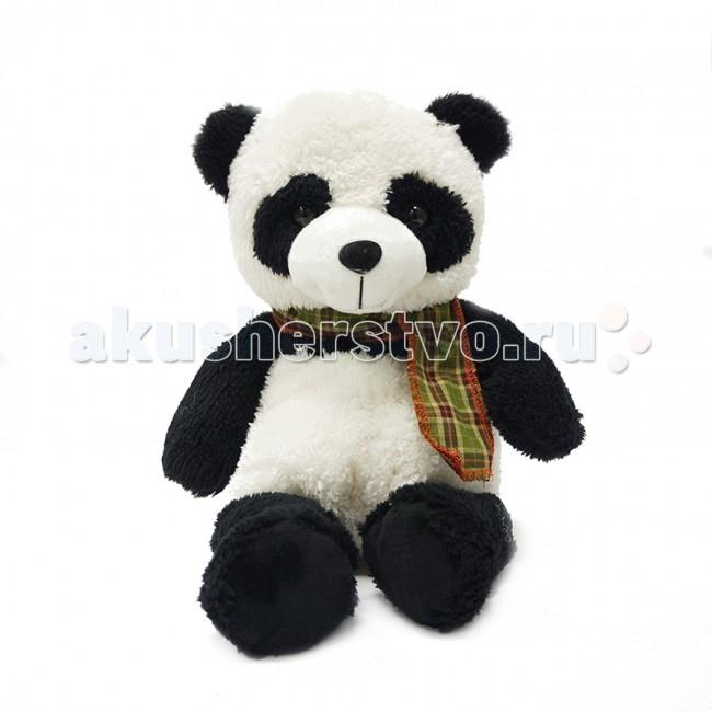Мягкая игрушка Maxitoys Панда в шарф 24 смПанда в шарф 24 смМягкая игрушка Maxitoys Панда в шарф 24 см от которой ваш ребенок придет в восторг. Она изготовлена из безопасных высококачественных синтетических материалов, которые абсолютно безвредны для ребенка.   Особенности: Модель способствует развитию у детей воображения, усидчивости, тактильной чувствительности у детей.  Компактную и легкую игрушку малыш всегда сможет брать с собой на прогулку. Крепкие швы надежно удерживают набивку игрушки внутри.  Такая очаровательная добродушная панда окажется хорошим подарком не только детям, но и взрослым.  Состав: мех искусственный, трикотажный, волокно полиэфирное, фурнитура из пластмассы.<br>
