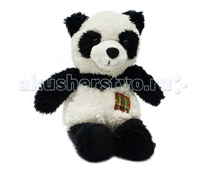 Мягкая игрушка Maxitoys Панда с заплаткой 15 см