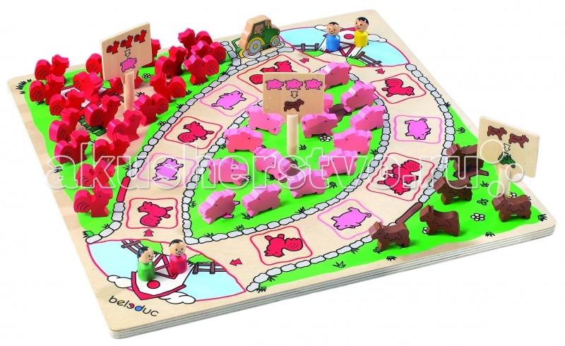 Настольная игра Веселая ферма. Развивающая игра