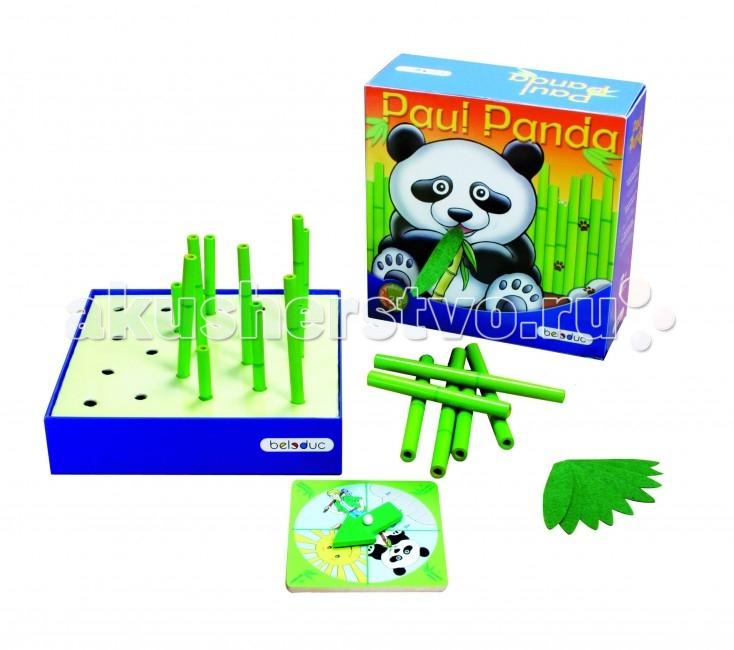 Beleduc Развивающая игра Веселая панда 22322Развивающая игра Веселая панда 22322Развивающая игра Веселая панда 22322 Beleduc  Веселая панда голодна и, конечно же, хочет выиграть игру, но это будет зависеть от того, как игрок будет действовать при посадке бамбуковых палочек и сможет ли накормить панду. Эта милая игра поможет игрокам лучше понять природу и стать более осведомленными о своей среде.   Игроки выполняют различные действия, которые определяются с помощью диска со стрелкой. Они могут посадить бамбук или накормить панду, но иногда они также должны сокращать количество бамбука.  Включает 35 деталей: 1 коробка с изображением панды, 1 деревянный волчок со стрелкой, 24 палочки 3 размеров (90, 120, 150 mm), 10 бамбуковых листьев.   Все детали выполнены из высококачественных материалов, совершенно безопасных для маленьких детей.  Игры Beleduc идеально подходят для начального развития детей, задолго до того, как они идут в школу, но и просто для интересного времяпрепровождения. Игры Beleduc идеально подходят для совместной игры родителей и детей. Некоторые игры очень понравятся взрослым, которые с удовольствием втянутся в процесс игры.<br>