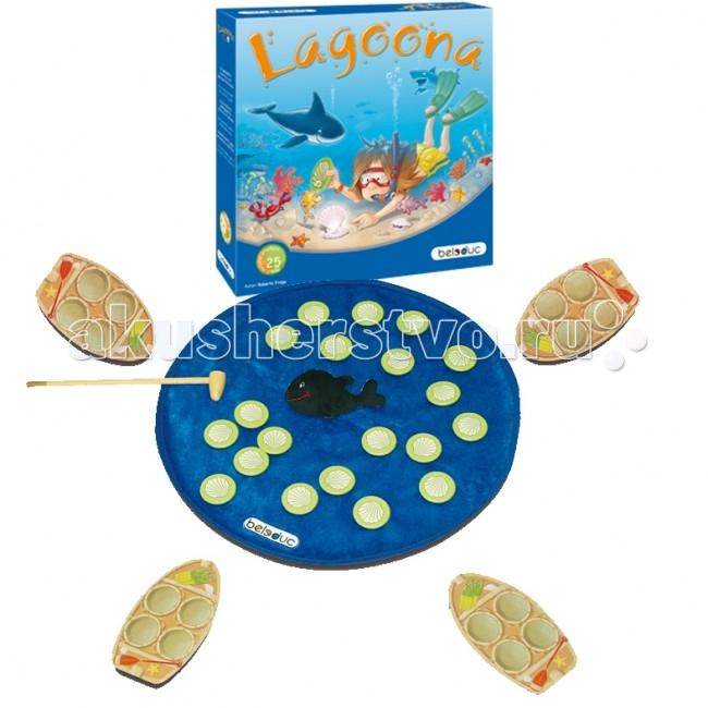 Настольная игра Лагуна. Развивающая игра