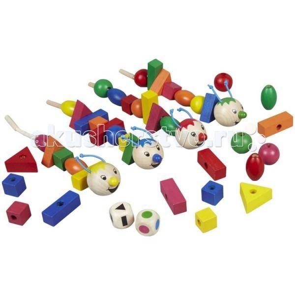 Beleduc Развивающая игра Рондо Варио 22391Развивающая игра Рондо Варио 22391Развивающая игра Рондо Варио 22391 Beleduc  Развивающая игра деревянная для малышей. В процессе игры ребенок изучает цвета и формы, развивает моторику и произвольное внимание. Для игры используются кубик с цветными символами и кубик с геометрическими фигурами.   В зависимости от выпадающих цветов и фигур, игроки выбирают нужные детали и складывают из них разноцветных гусениц. Победителем станет тот, кто первым сделает гусеницу из 6 деталей.  Включает 48 деталей: 4 гусеницы из дерева с текстильным шнурком, 42 деревянные части гусеницы, 1 кубик с цветами, 1 кубик с символами.   Все детали выполнены из высококачественных материалов, совершенно безопасных для маленьких детей.  Игры Beleduc идеально подходят для начального развития детей, задолго до того, как они идут в школу, но и просто для интересного времяпрепровождения. Игры Beleduc идеально подходят для совместной игры родителей и детей. Некоторые игры очень понравятся взрослым, которые с удовольствием втянутся в процесс игры.<br>