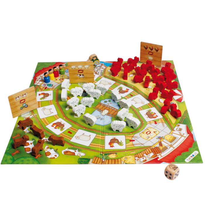 Настольная игра Веселая ферма 2. Развивающая игра
