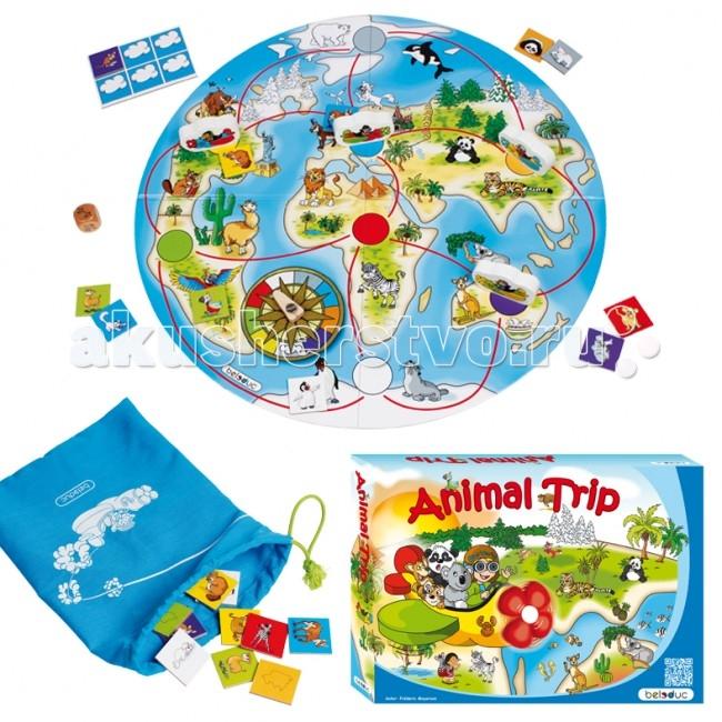 Настольная игра Путешествие животных