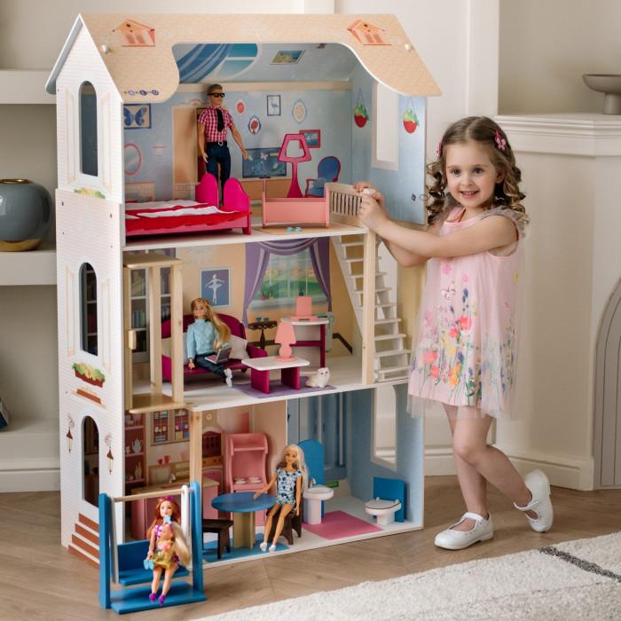 Paremo Кукольный домик для Барби Грация