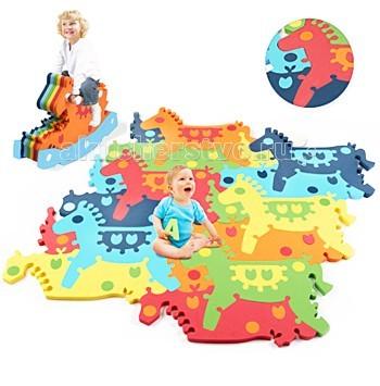 Игровой коврик Tessell пазл-качалка Лошадка