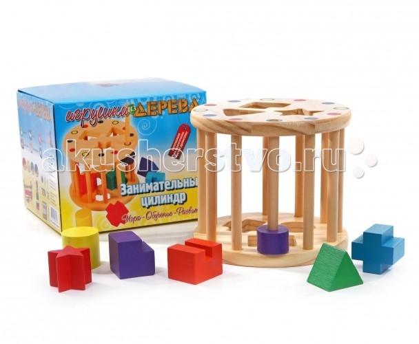 Деревянная игрушка МДИ Занимательный цилиндр
